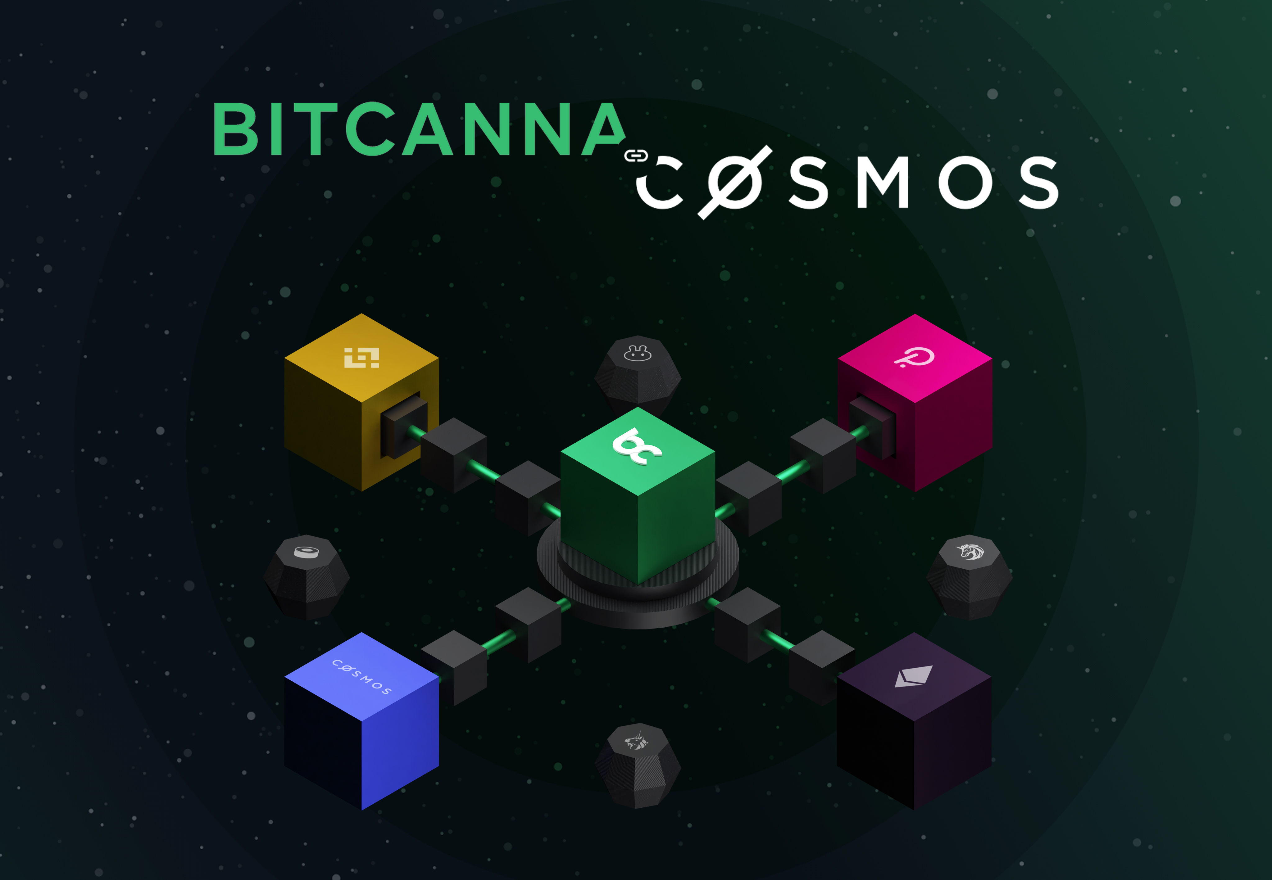 Bitcanna is updating to cosmos blockchain technology