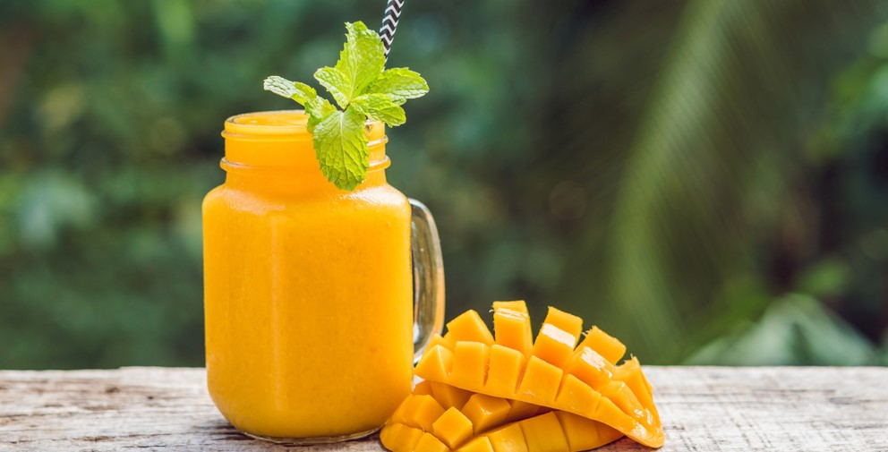 SMOOTHIE À LA MANGUE ET AU CBD
