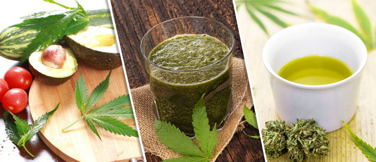 HOW YOU CAN INCORPORATE RAW CANNABIS INTO YOUR DIET