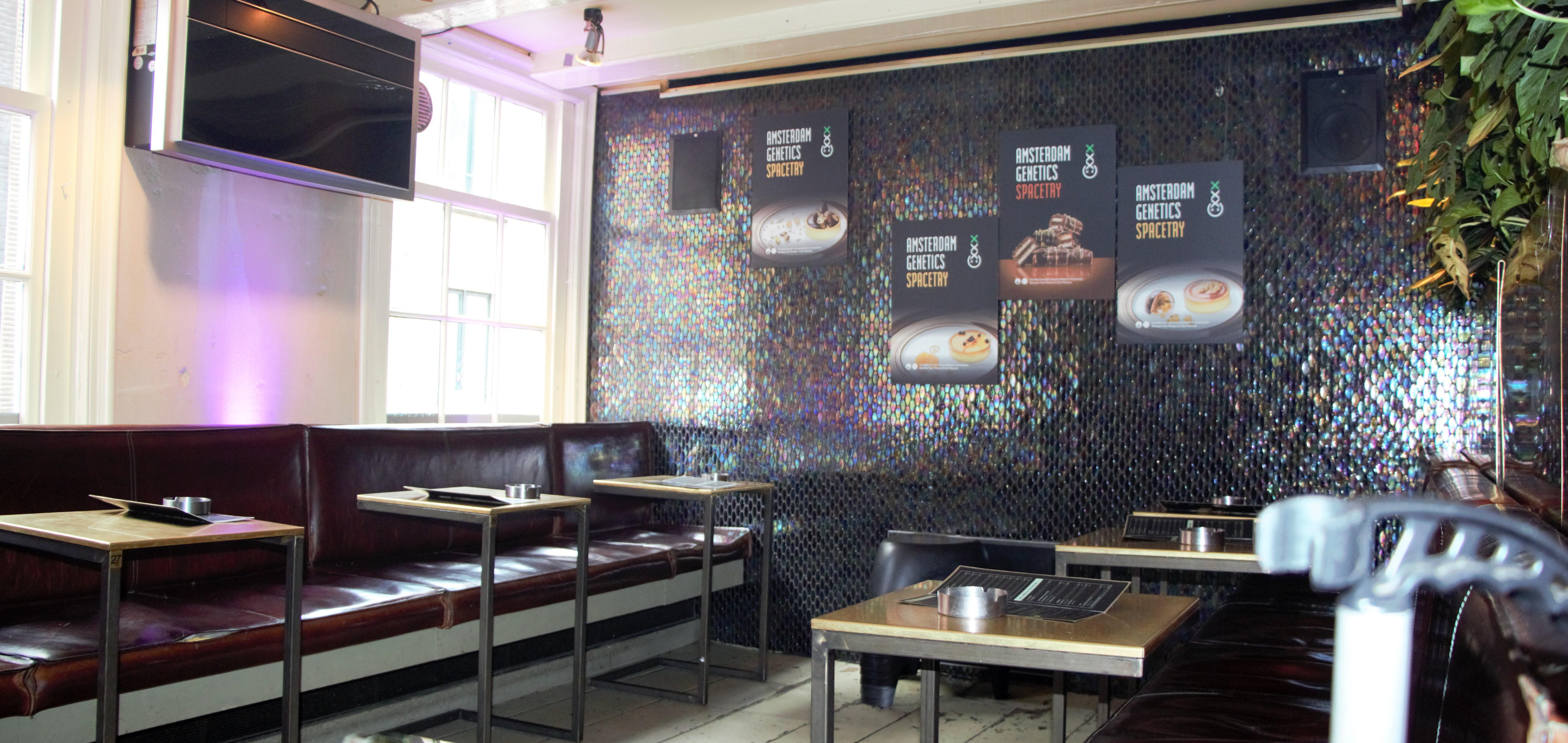 Inside Coffeeshop Amsterdam
