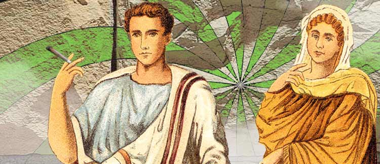 Maybe the italians were the first to get stoned?