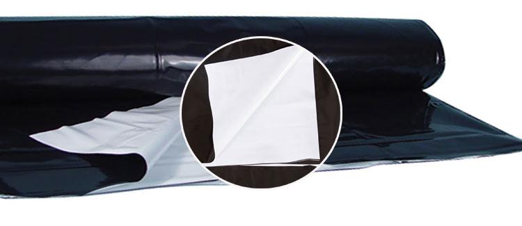 2. lámina blanca y negra (lámina/plástico panda)