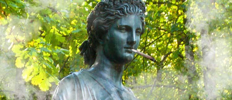 Flora goddess of cannabis?