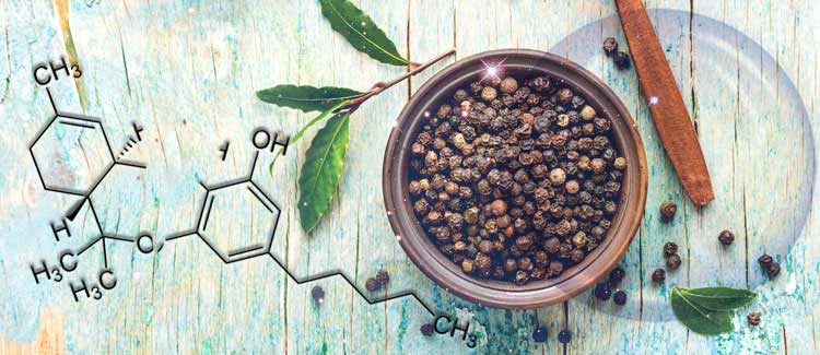 BLACK PEPPERCORNS CAN REDUCE YOUR HIGH