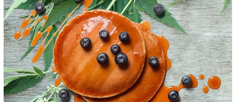 How to make pot pancakes