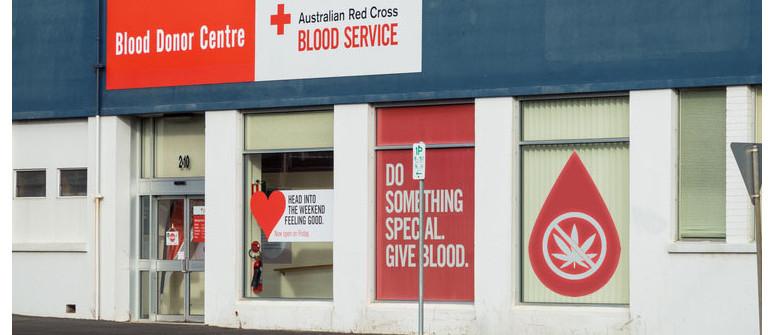 Can you donate blood if you smoke marijuana