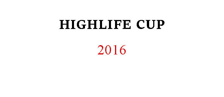 Results of the Highlife Cup 2016