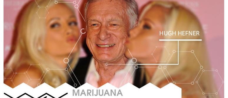 Marijuana VIP: Hugh Hefner