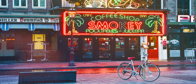 The history and law of coffeeshops in Amsterdam