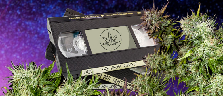 The Dope Tapes: A 20-year-old collection of cannabis media
