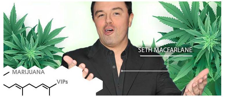 Marijuana VIP: Seth MacFarlane