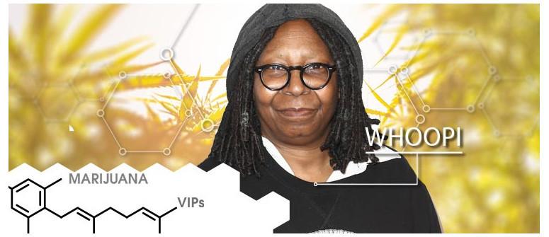 Marijuana VIP: Whoopi Goldberg