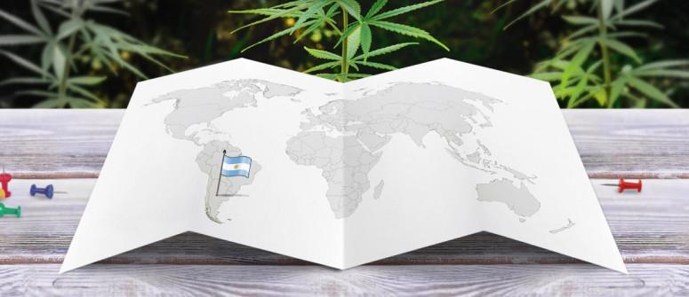 Legal status of marijuana in Argentina