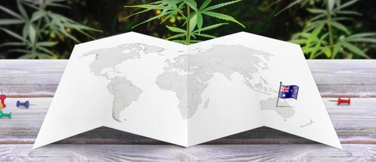 Legal status of marijuana in Australia