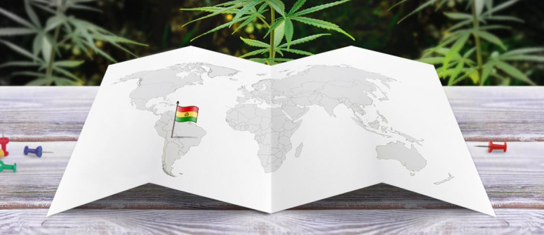 Legal status of marijuana in Bolivia
