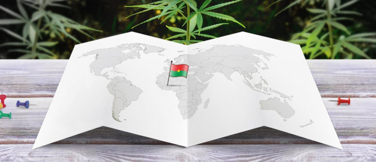 Legal status of marijuana in Burkina Faso