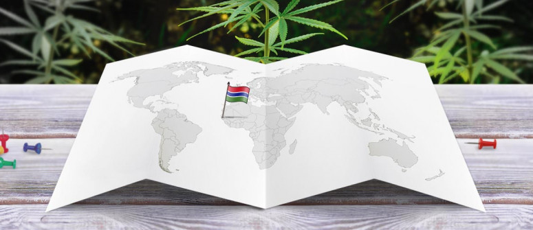 Legal status of marijuana in Gambia