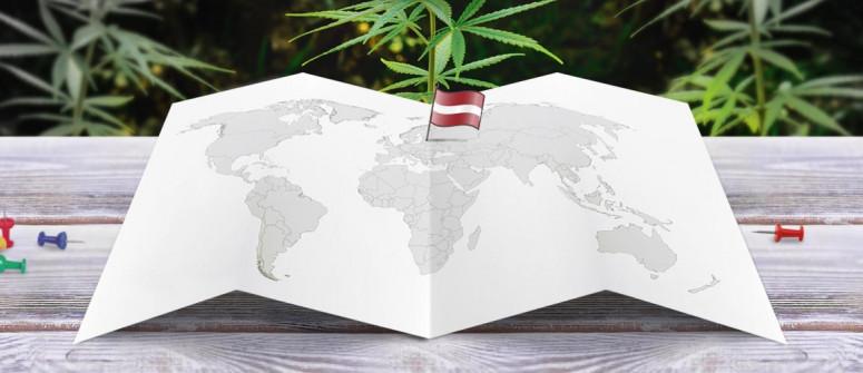 Legal status of marijuana in Latvia