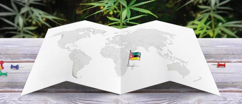 Legal status of marijuana in Mozambique