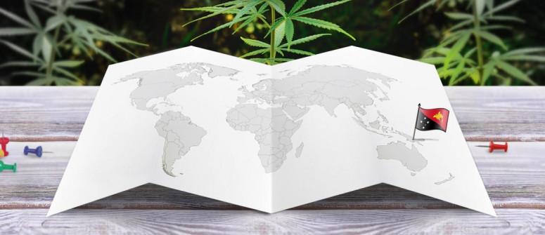 Legal status of marijuana in Papua New Guinea