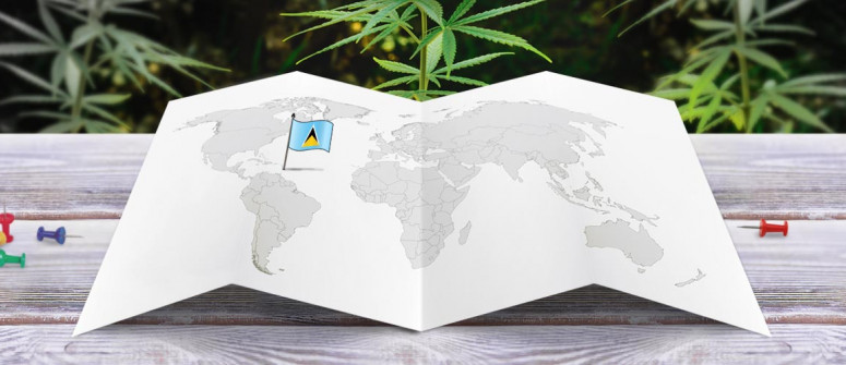 Legal status of marijuana in Saint Lucia