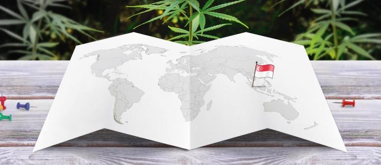Legal status of marijuana in Singapore