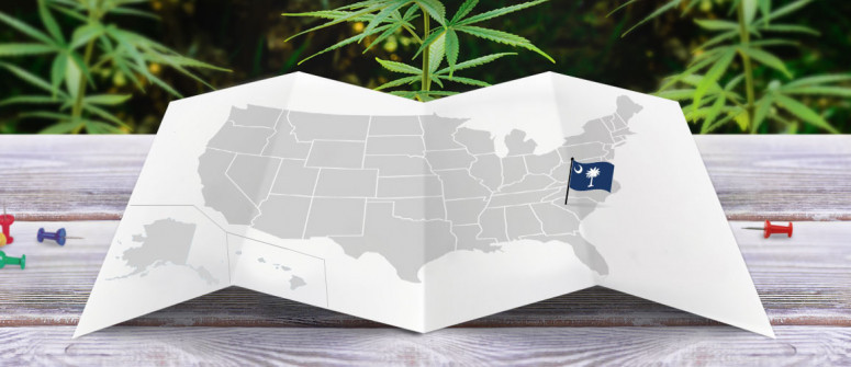 Legal status of marijuana in the state of South Carolina