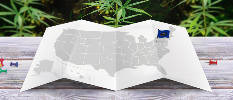 Legal status of marijuana in the state of Pennsylvania
