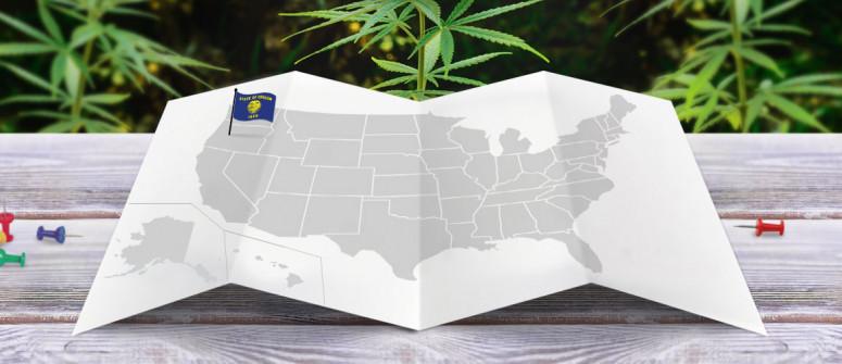 Legal status of marijuana in the state of Oregon
