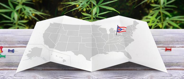 Legal status of marijuana in the state of Ohio