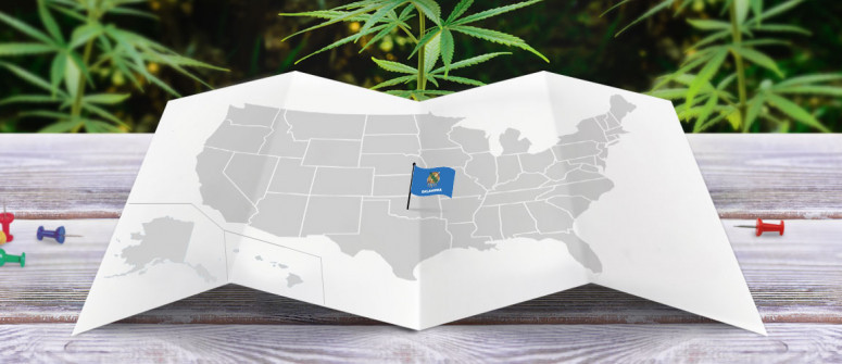 Legal status of marijuana in state of Oklahoma