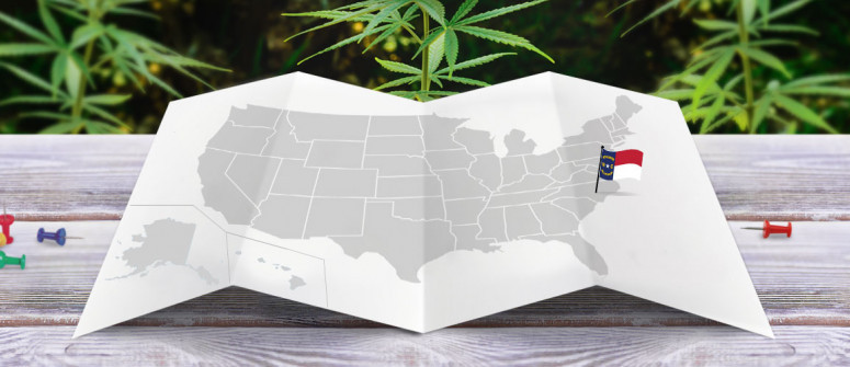 Legal status of marijuana in the state of North Carolina