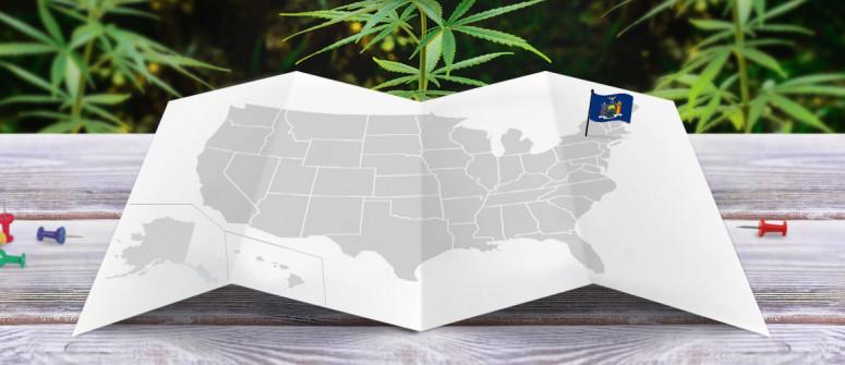 Legal status of marijuana in the state of New York