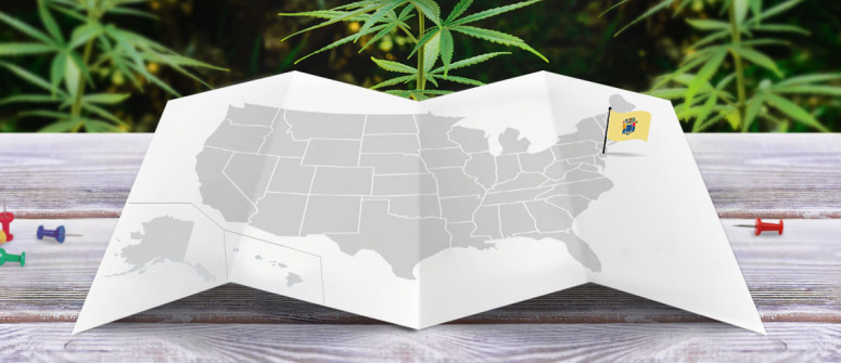Legal status of marijuana in the state of New Jersey