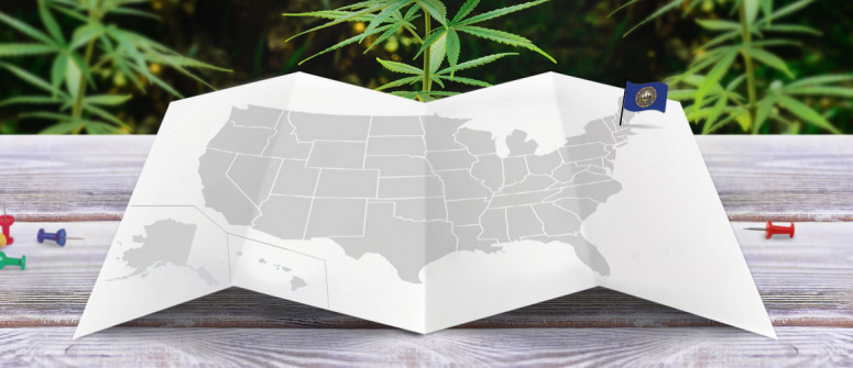 Legal status of marijuana in the state of New Hampshire