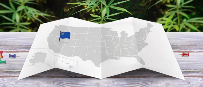 Legal status of marijuana in the state of Nevada