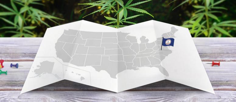 Legal status of marijuana in the state of Virginia