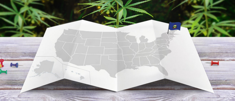 Legal status of marijuana in the state of Vermont