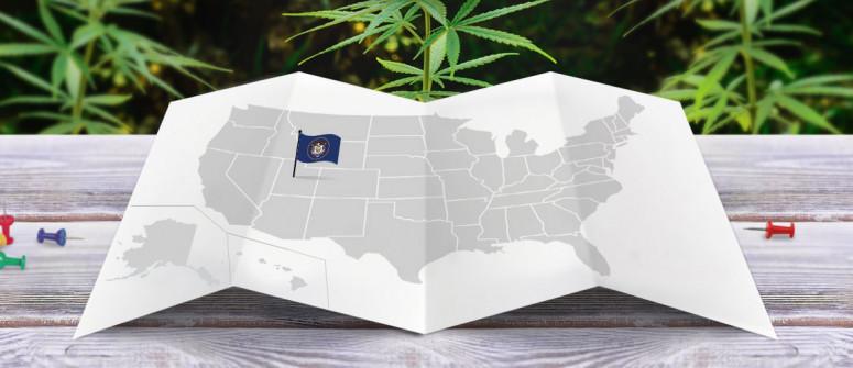 Legal status of marijuana in the state of Utah