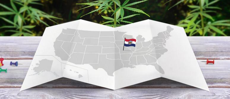 Legal status of marijuana in the state of Missouri