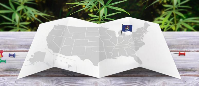 Legal status of marijuana in the state of Michigan