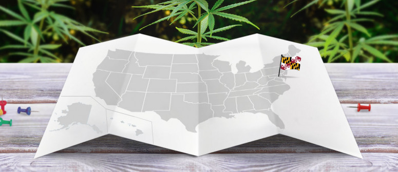 Legal status of marijuana in the state of Maryland