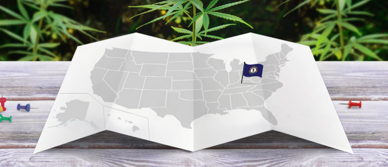 Legal status of marijuana in the state of Kentucky