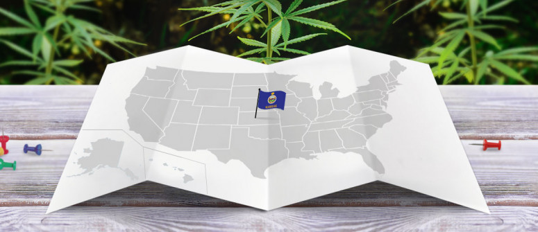 Legal status of marijuana in the state of Kansas