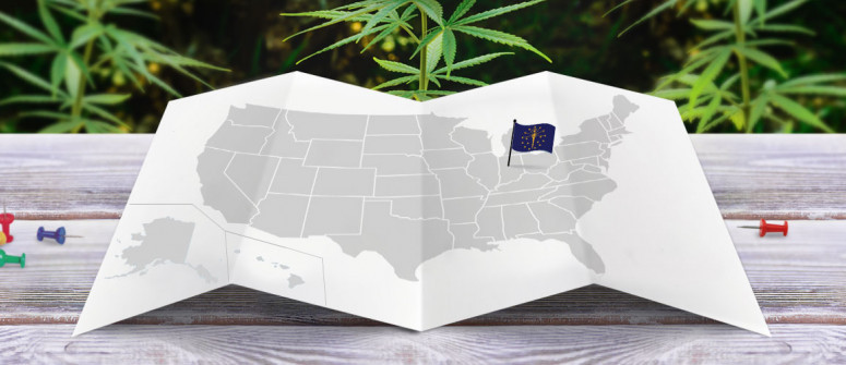 Legal status of marijuana in the state of Indiana