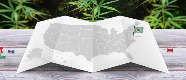 Legal status of marijuana in the state of Delaware