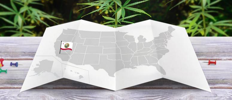 Legal status of marijuana in the state of california