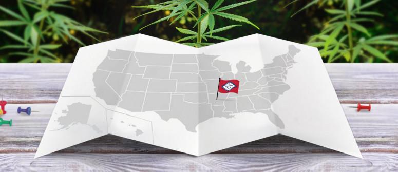 Legal status of marijuana in the state of Arkansas