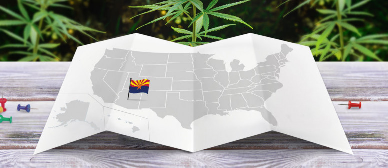 Legal status of marijuana in the state of Arizona