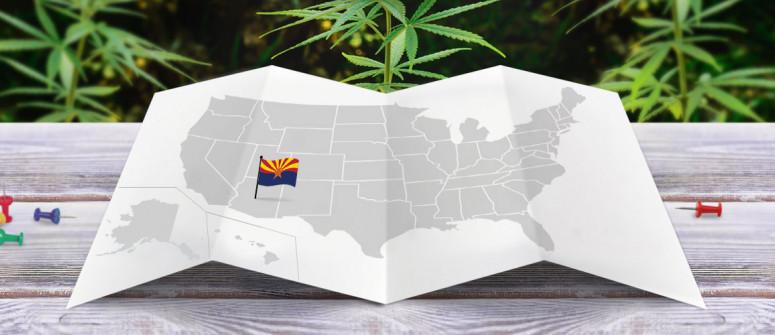 Legal status of marijuana in the state of arizona